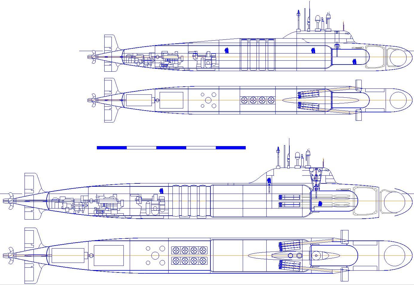 подводные лодки пятого поколения типа хаски