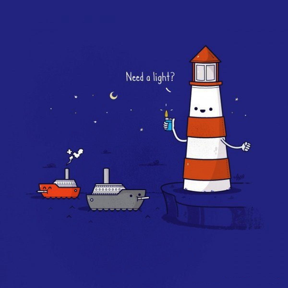 Прикольные картинки маяк