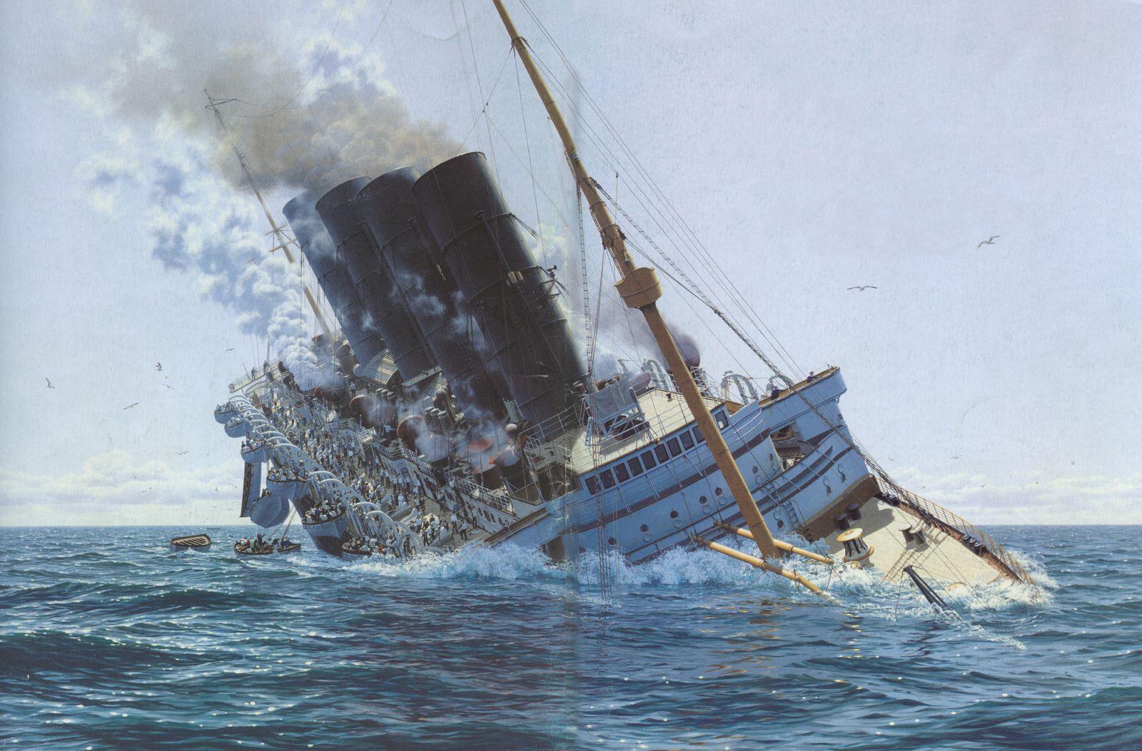 фото затонувшей лузитании тех пор