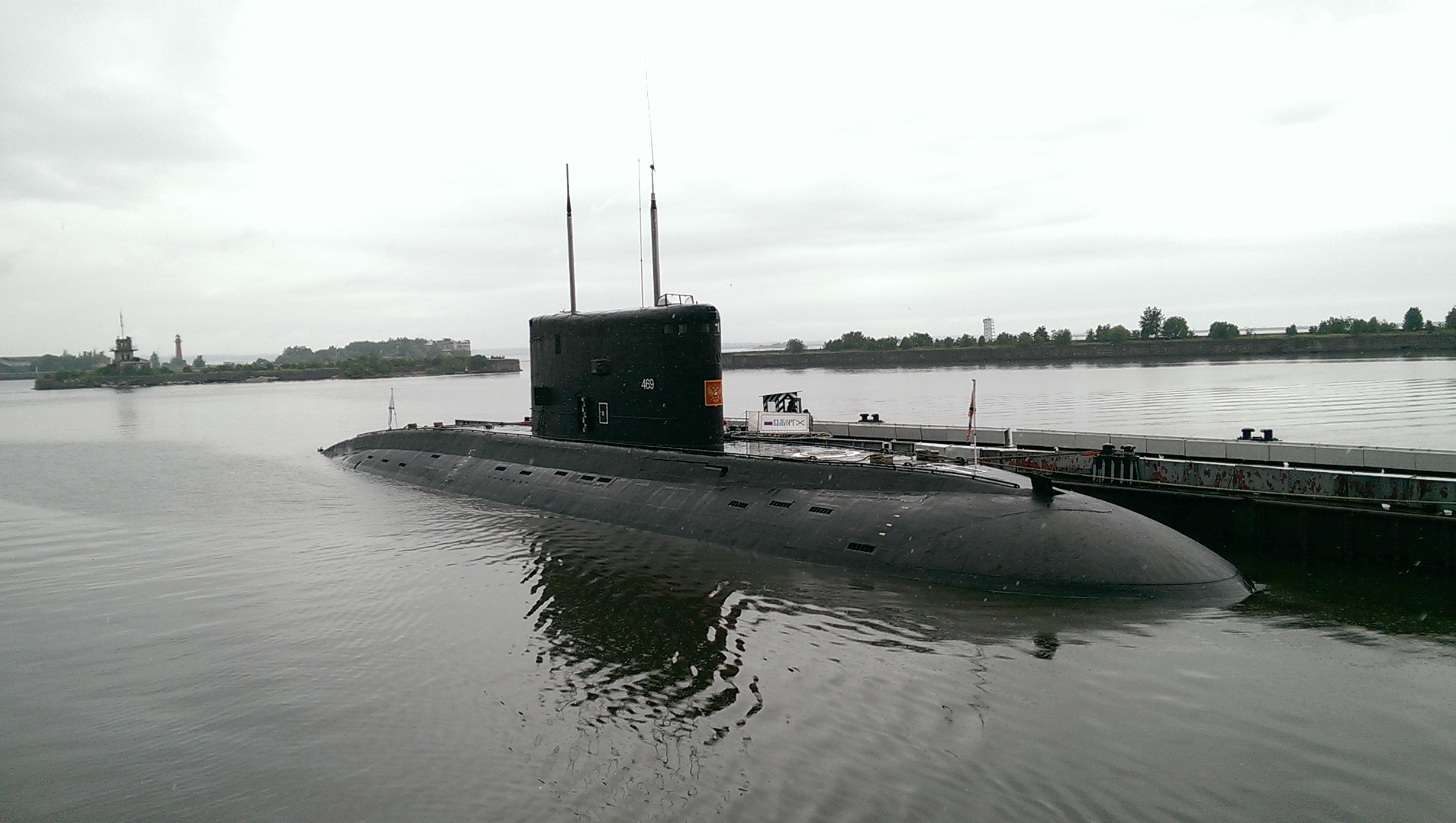 подводная лодка выборг видео