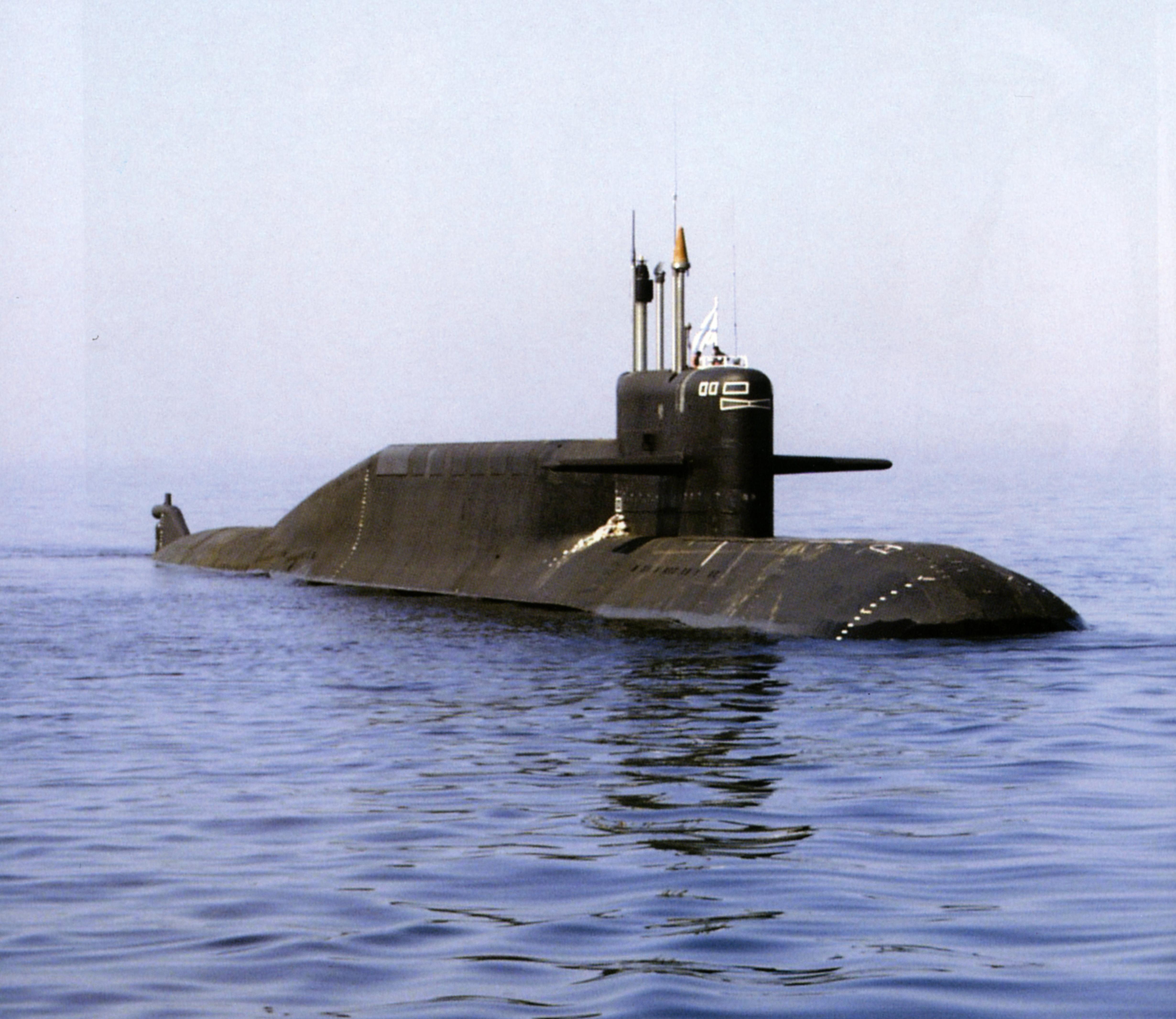 сделано у нас атомные подводные лодки